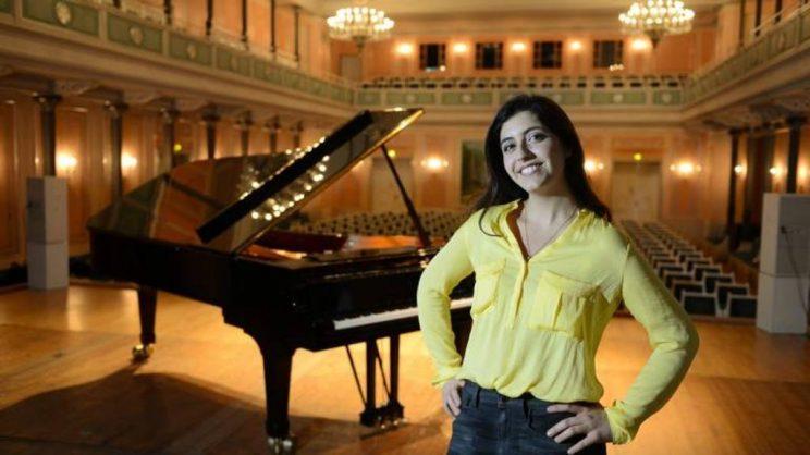 La pianista Sophia Pacini, madrina del Festival @LaStampa.it