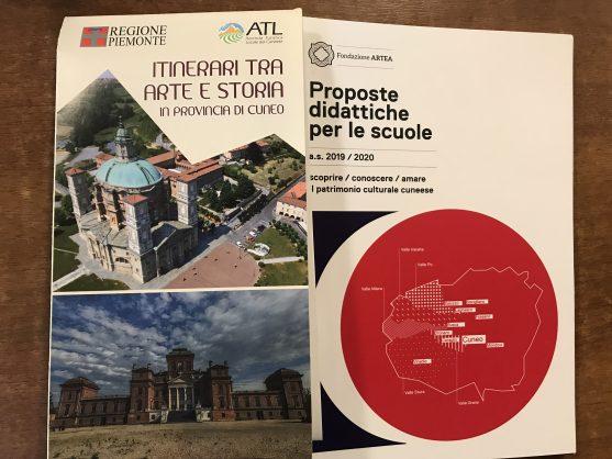 La cartina e la guida alle offerte didattiche per le scuole. Due nuovi strumenti per promuovere e valorizzare il nostro inestimabile patrimonio culturale.